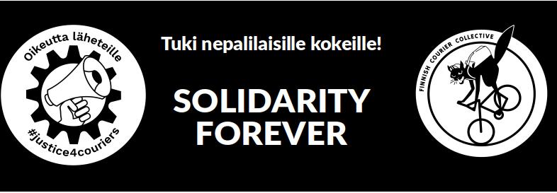 Solidaarisuutta nepalilaisille kokeille